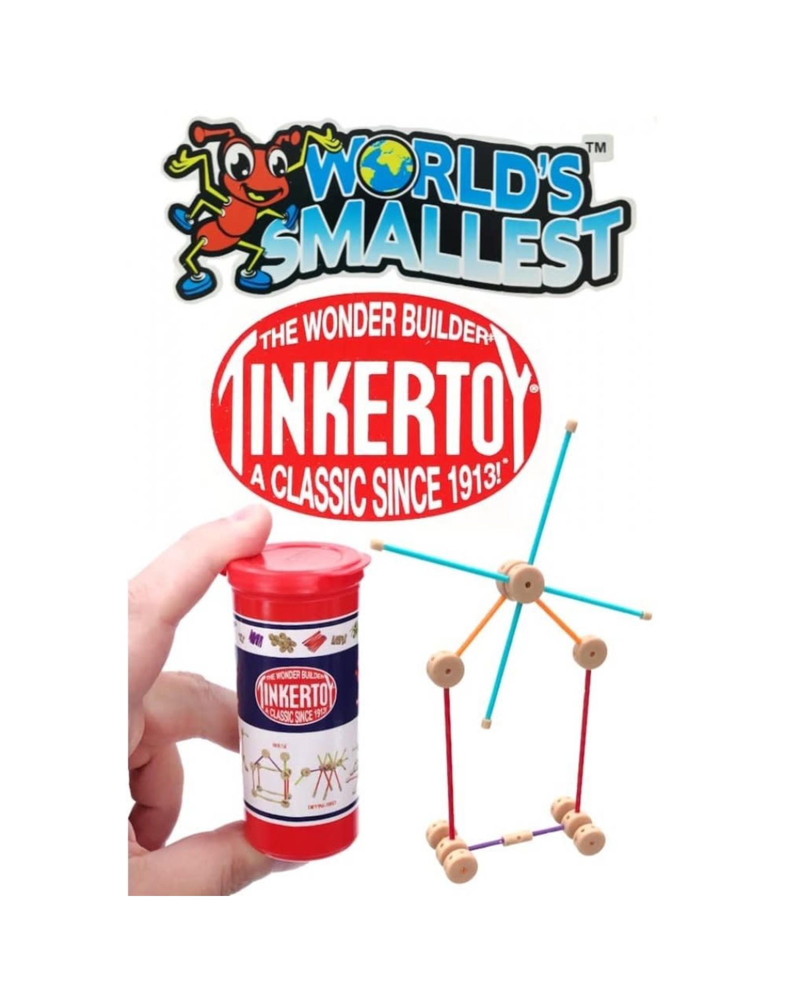 SUPER IMPULSE WORLD'S SMALLEST TINKER TOY
