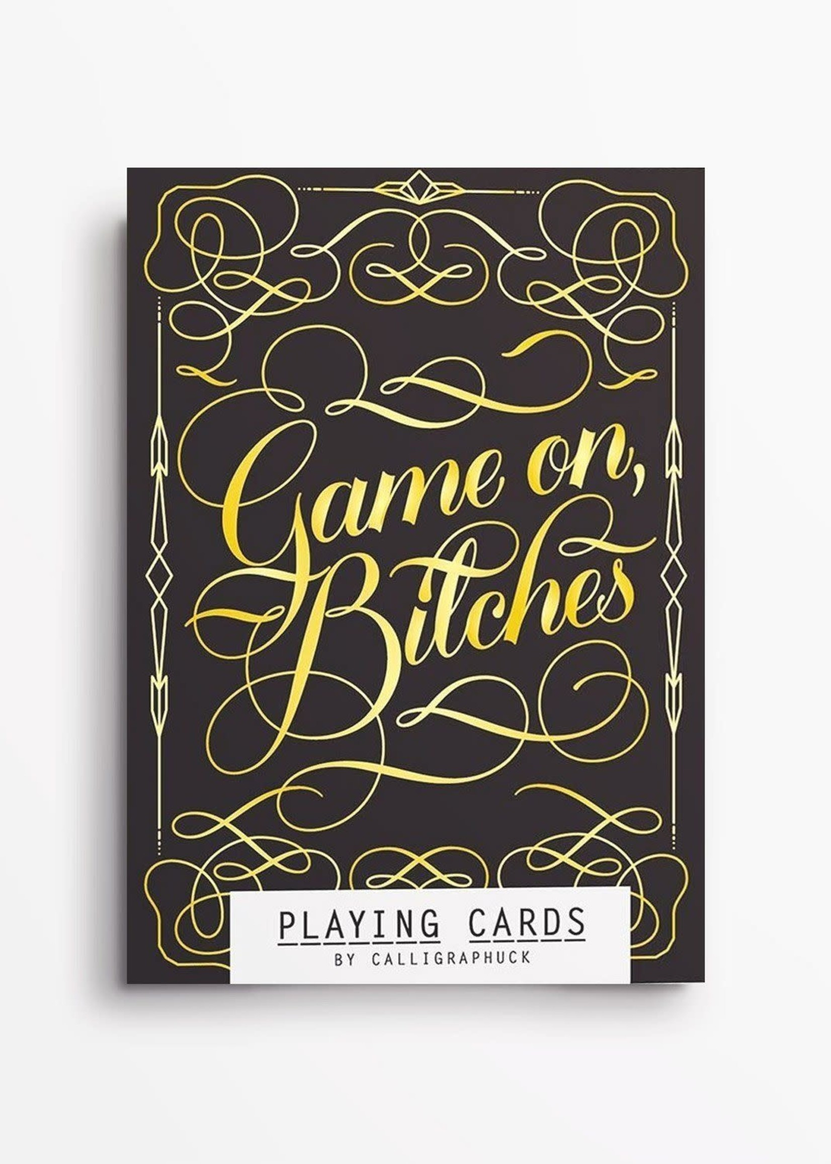 Chronicle Books GAME ON BITCHES CARDS