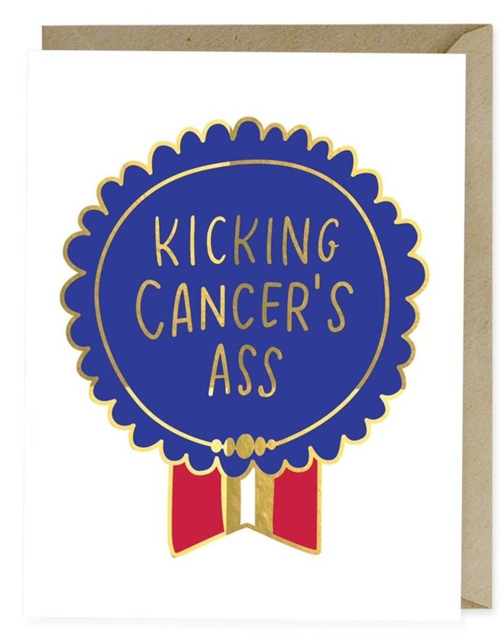 EMILY MCDOWELL KICKING CANCERS ASS CARD