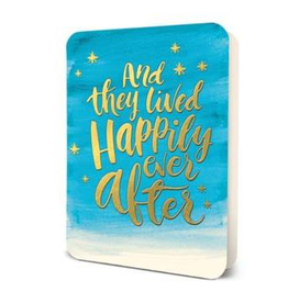 STUDIO OH AND THEY LIVED HAPPILY EVER AFTER WEDDING CARD - STUDIO OH