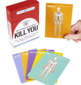 KNOCK KNOCK 50 THINGS THAT MIGHT KILL YOU CARDS