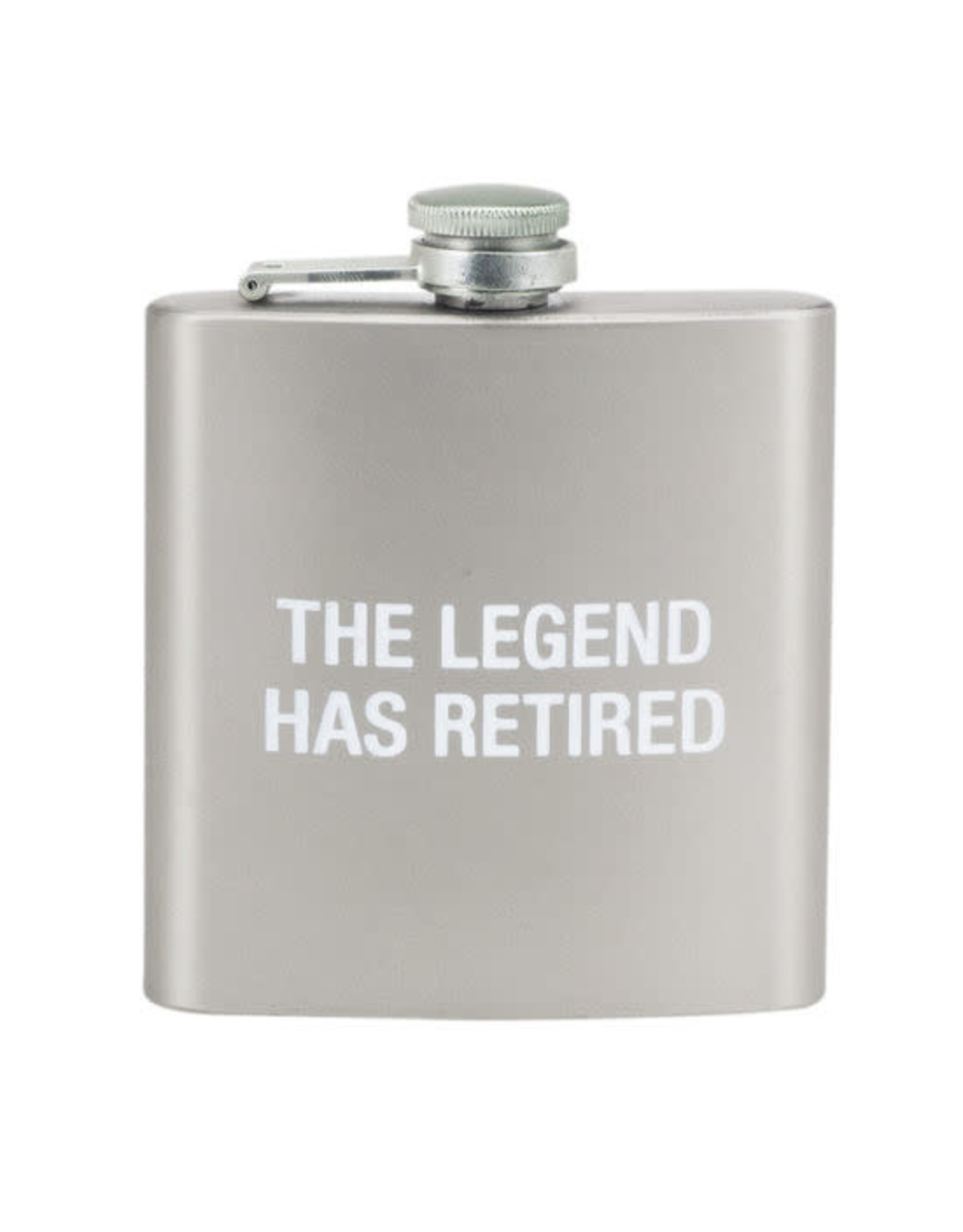 ABOUT FACE ABOUT FACE THE LEGEND HAS RETIRED FLASK