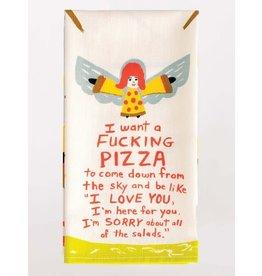 Blue Q BLUE Q FUCKING PIZZA DISH TOWEL