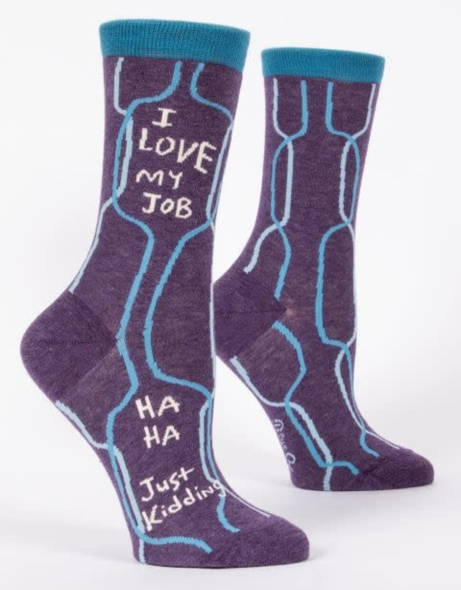 Blue Q BLUE Q I LOVE MY JOB WOMEN SOCKS