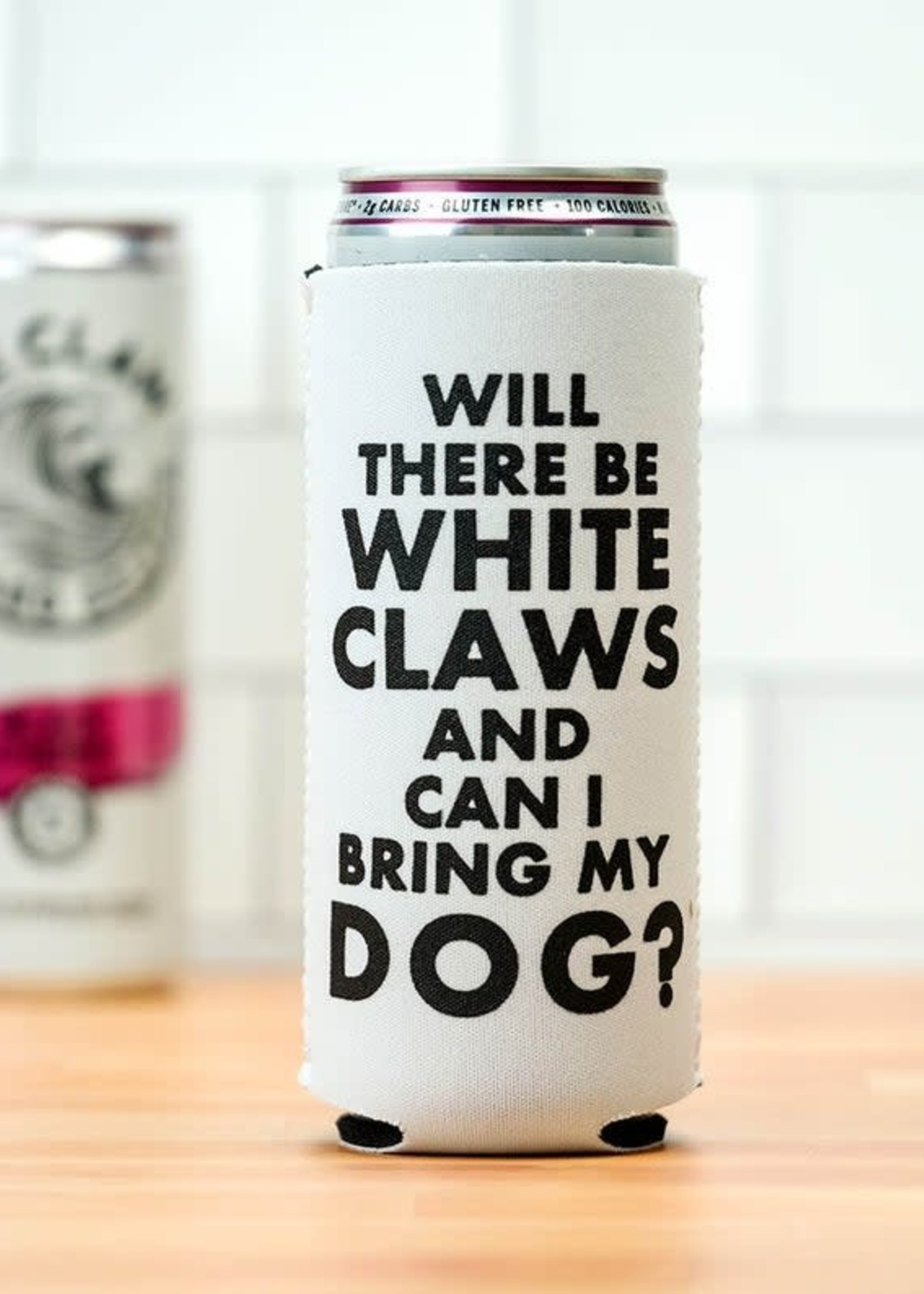 MERIWETHER MERIWETHER WHITE CLAW KOOZIE
