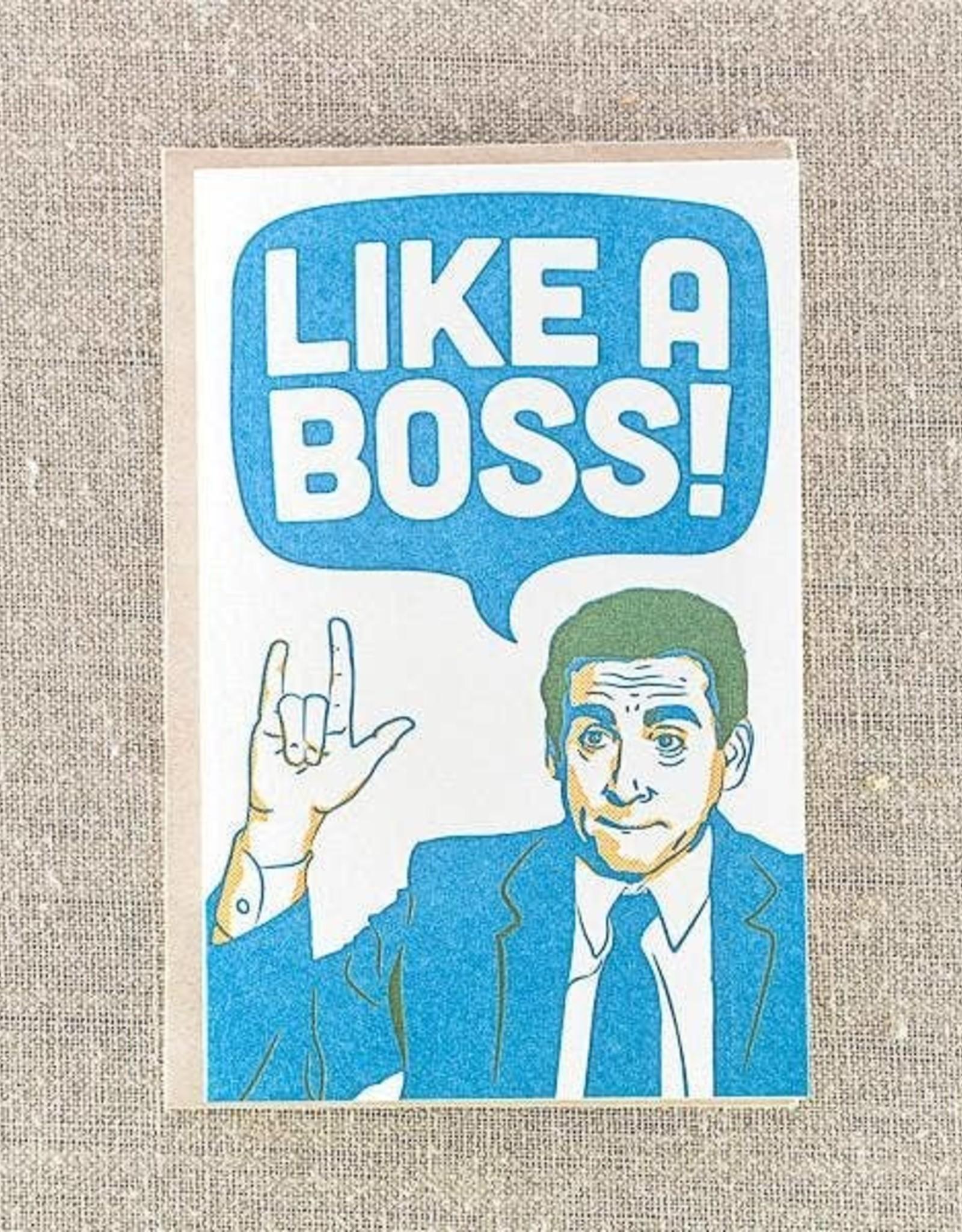 PIKE STREET PRESS OFFICE LIKE A BOSS CARD