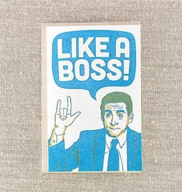PIKE STREET PRESS OFFICE LIKE A BOSS CARD