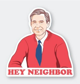 PIKE STREET PRESS HEY NEIGHBOR STICKER