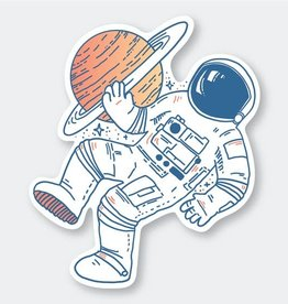 PIKE STREET PRESS ASTRONAUT STICKERS