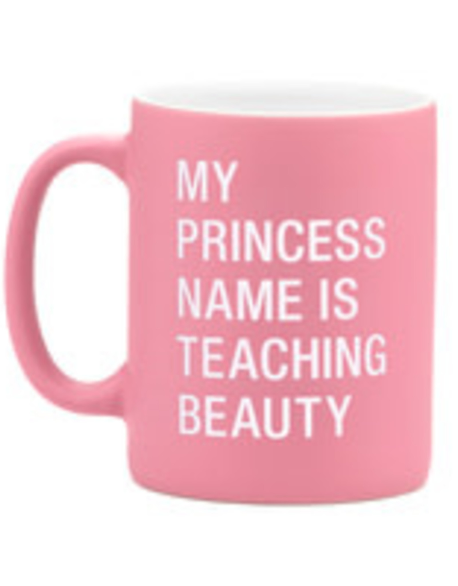 ABOUT FACE ABOUT FACE TEACHING BEAUTY MUG