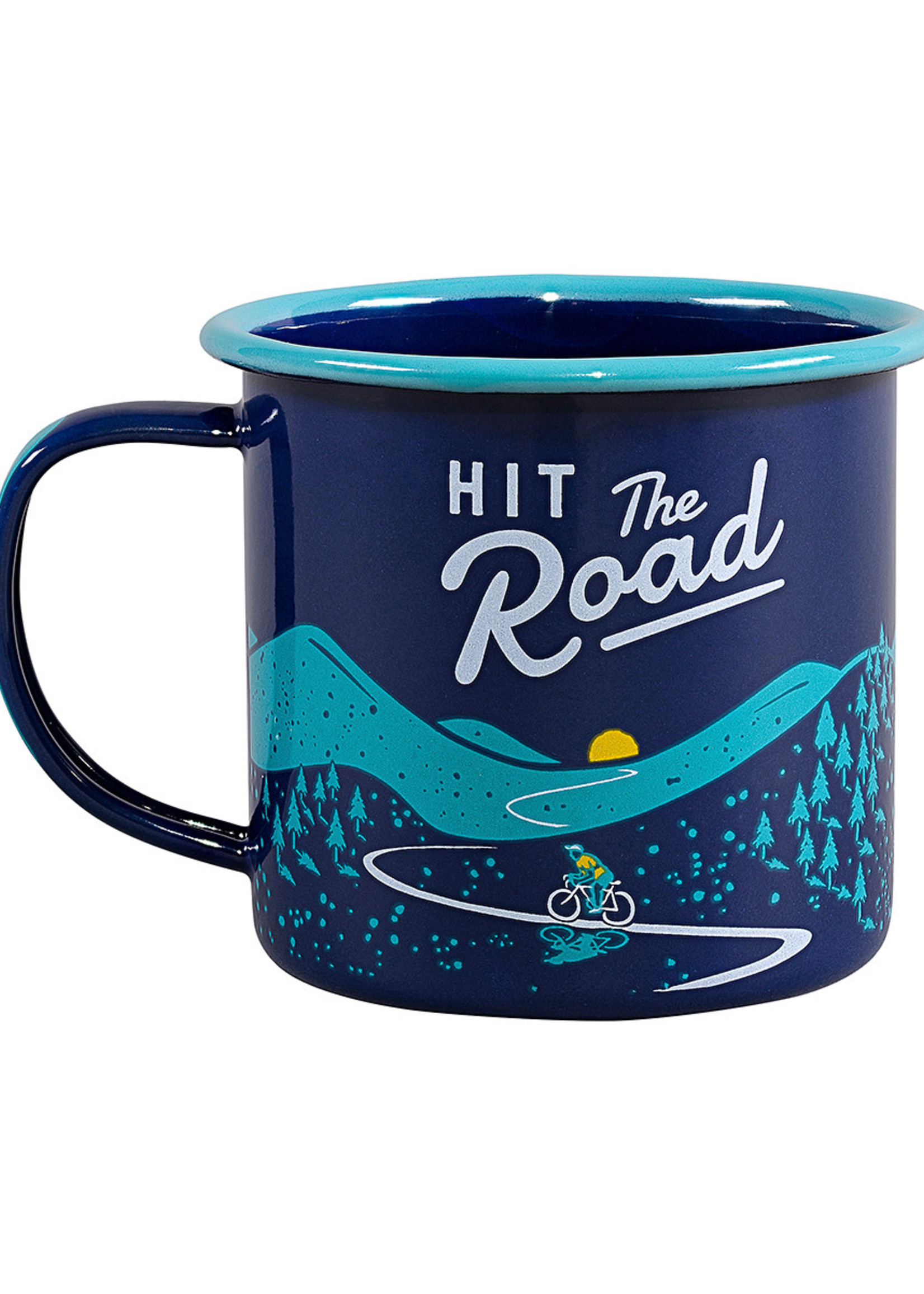 Wild & Wolf WILD & WOLF HIT THE ROAD ENAMEL CUP