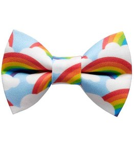 SWEET PICKLES DESIGNS SWEET PICKLES BRIGHT SIDE LARGE DOG BOWTIE