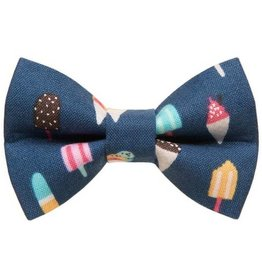 SWEET PICKLES DESIGNS SWEET PICKLES WHATS THE SCOOP CAT/SM DOG BOWTIE