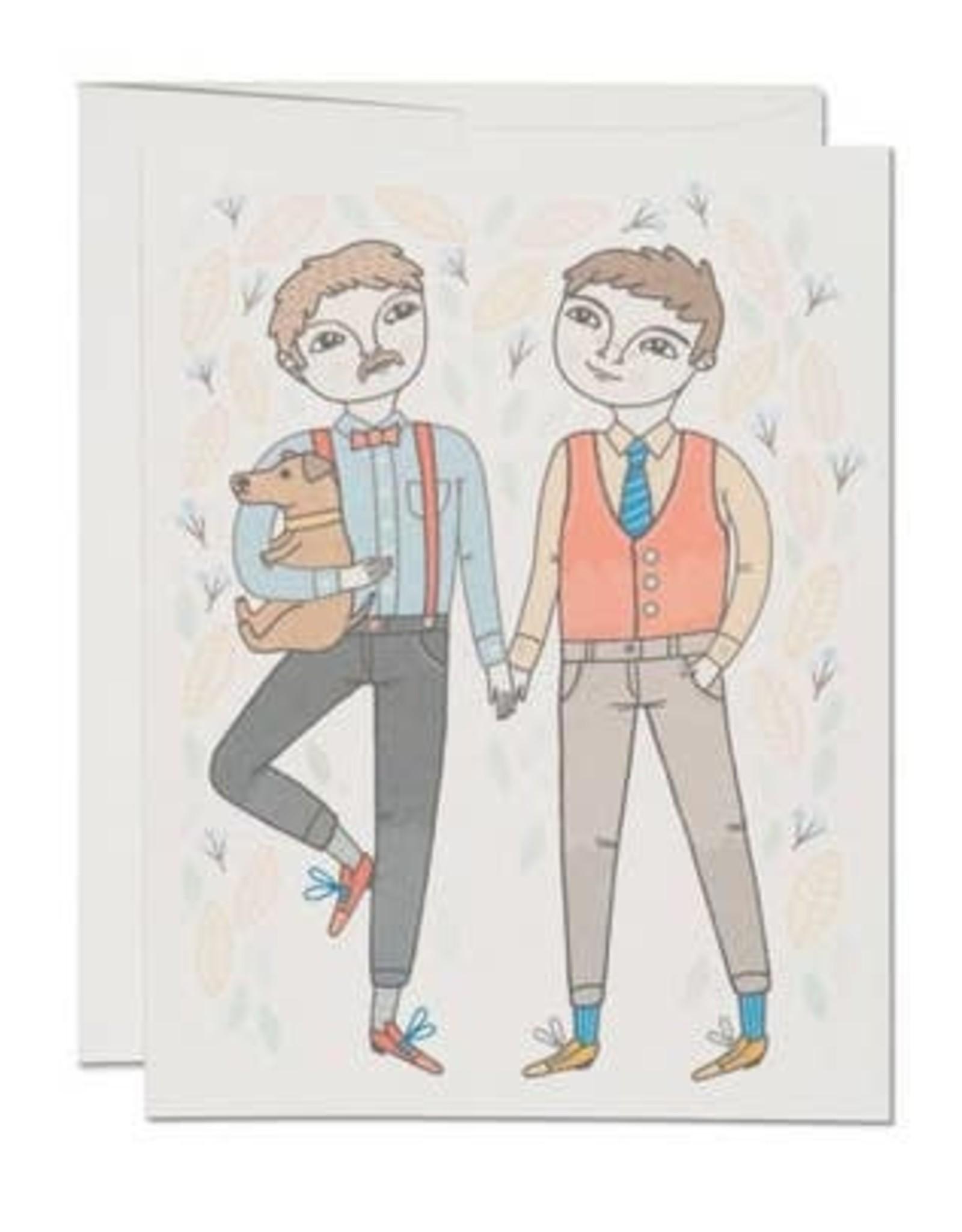 RED CAP CARDS BOY WEDDING CARD