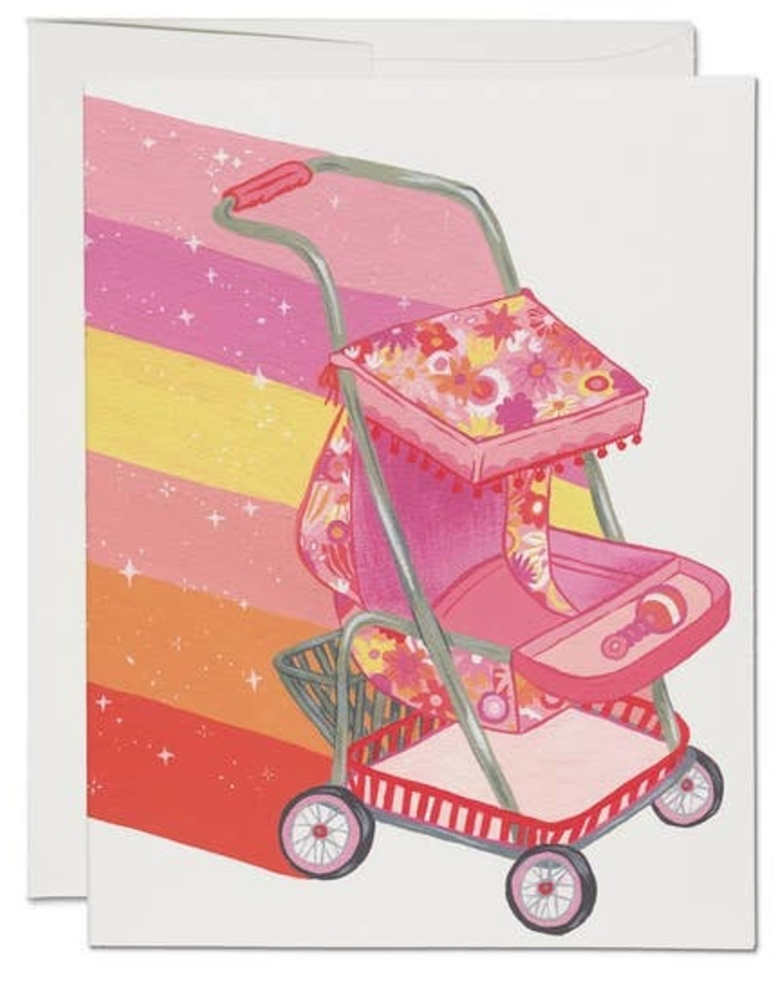 RED CAP CARDS MAGICAL STROLLER CARD