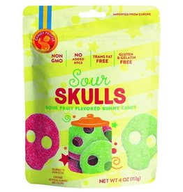 CANDY PEOPLE SWEDISH SOUR SKULL GUMMY CANDY