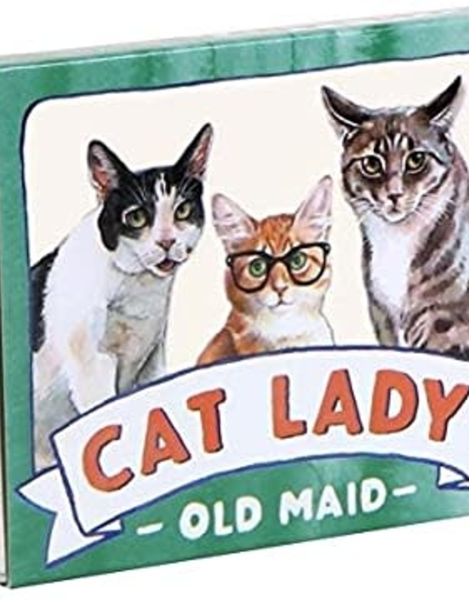 Chronicle Books CAT LADY OLD MAID