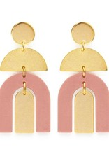 AMANO TRADING INC AMANO MOAB ARCHES IN BLUSH EARRINGS