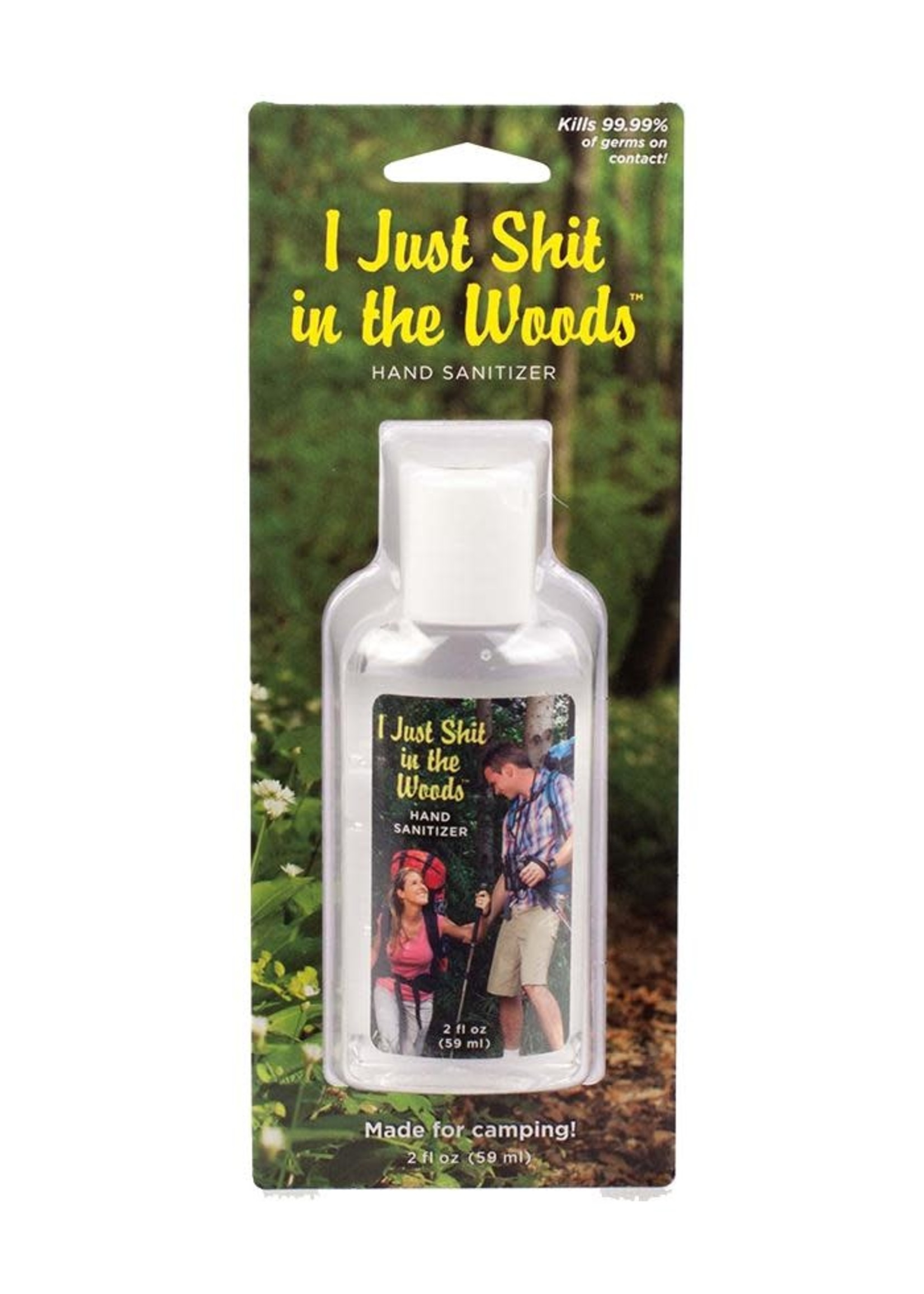 Blue Q BLUE Q I SHIT IN THE WOODS HAND SANITIZER