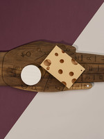 DOIY DOIY TAROT CHEESE BOARD W/KNIFE