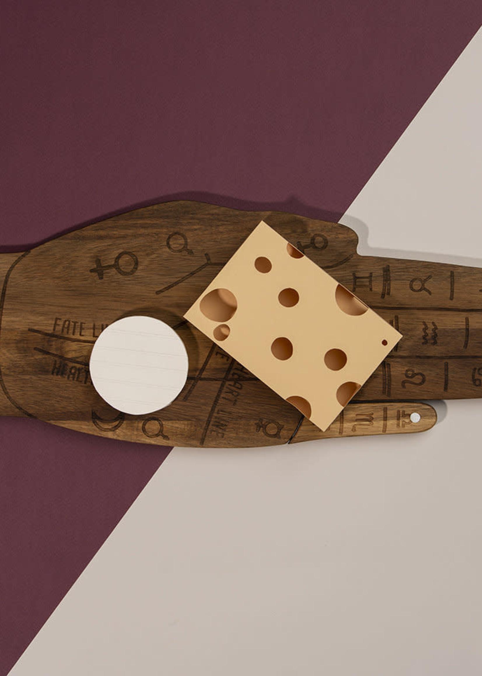 DOIY DOIY TAROT CHEESE BOARD W/KNIFE