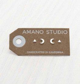 AMANO TRADING INC AMANO MYSTIC COMBO SILVER STUDS