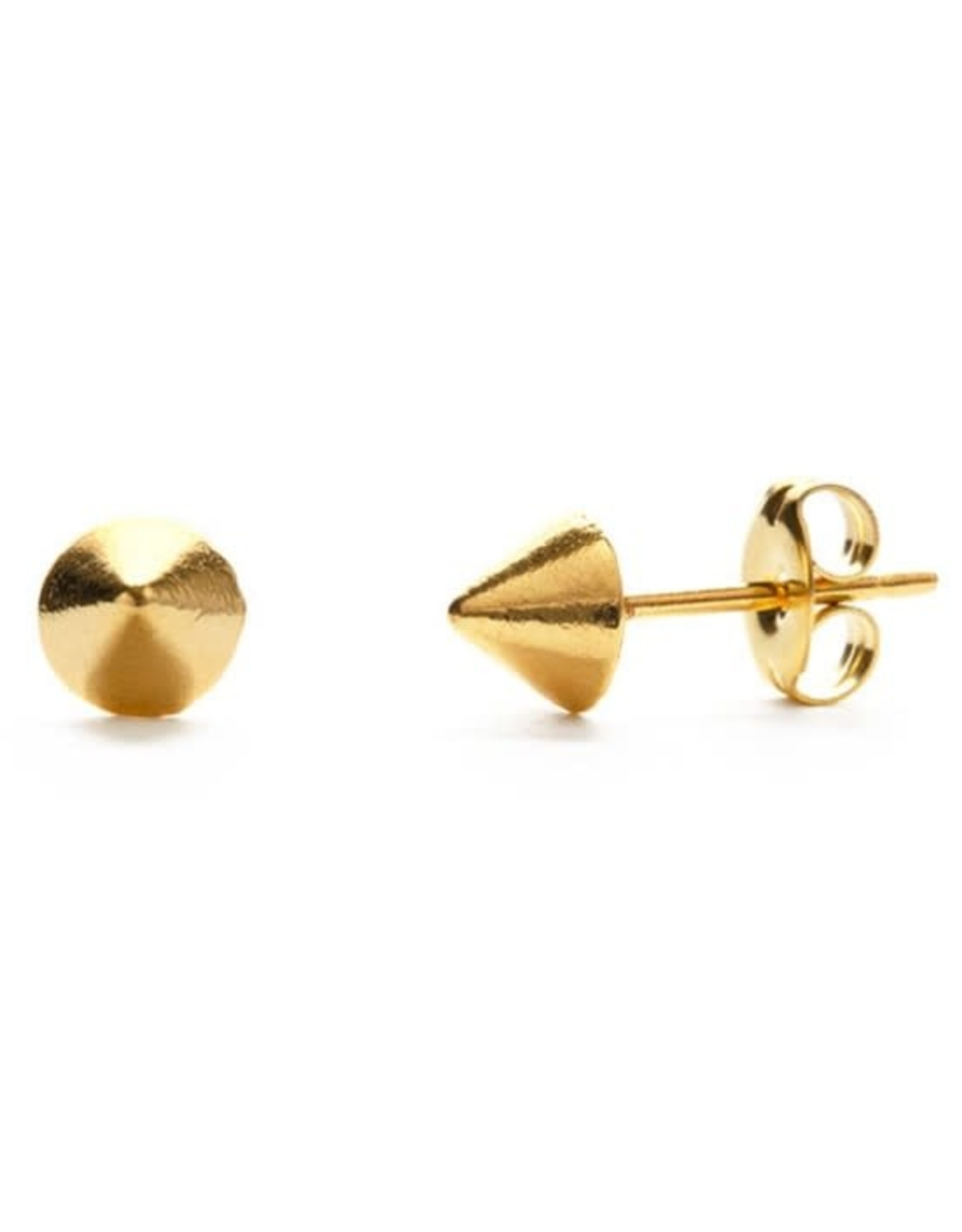 AMANO TRADING INC AMANO GOLD GEO CONE STUDS