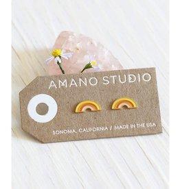 AMANO TRADING INC AMANO RETRO RAINBOW STUDS