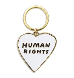 THE FOUND THE FOUND HUMAN RIGHTS KEYCHAIN