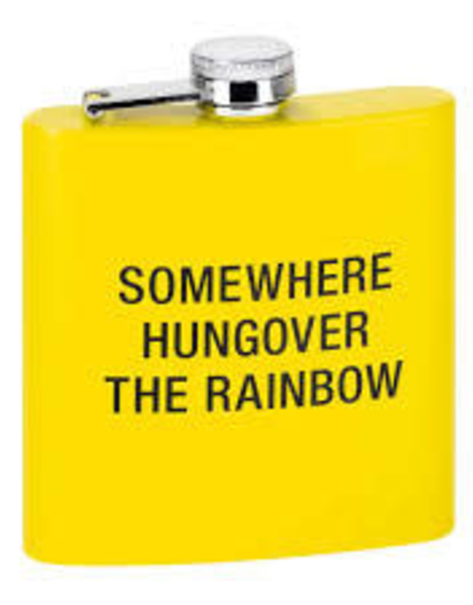 ABOUT FACE ABOUT FACE HUNGOVER THE RAINBOW FLASK