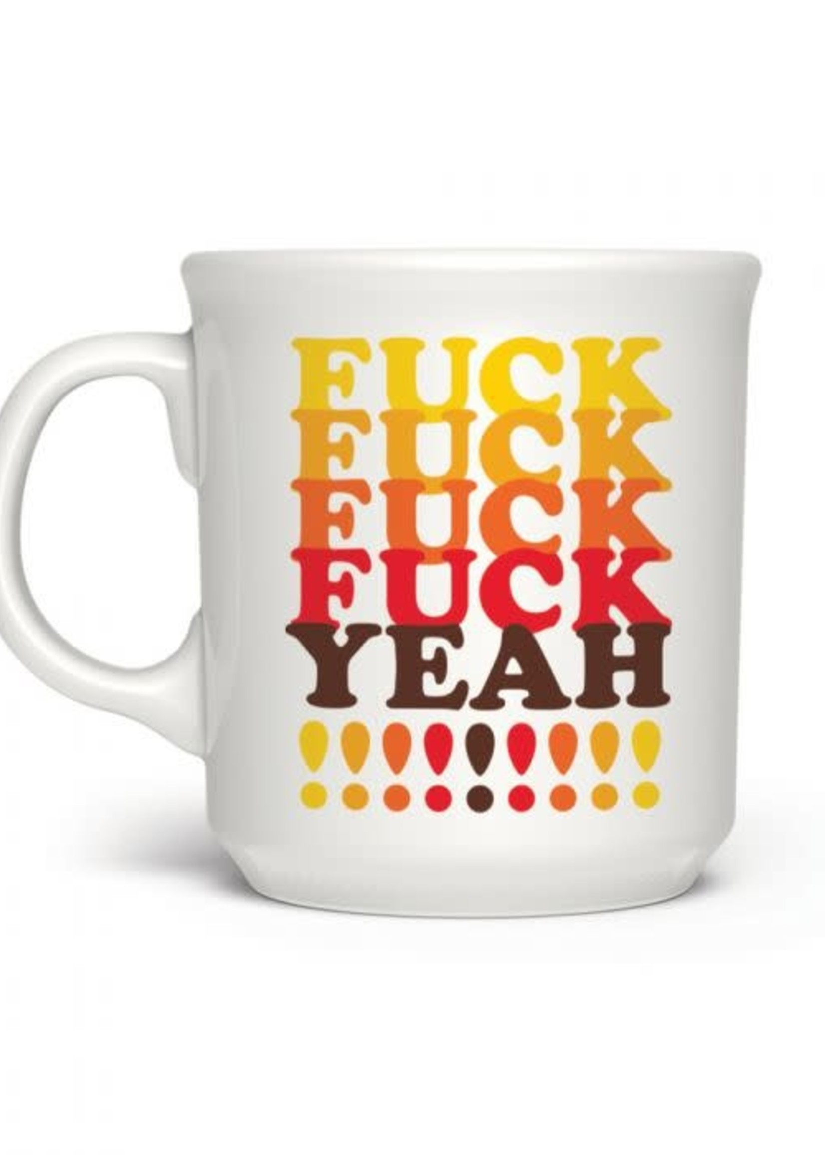 Fred & Friends SAY ANYTHING F*CK YEAH MUG