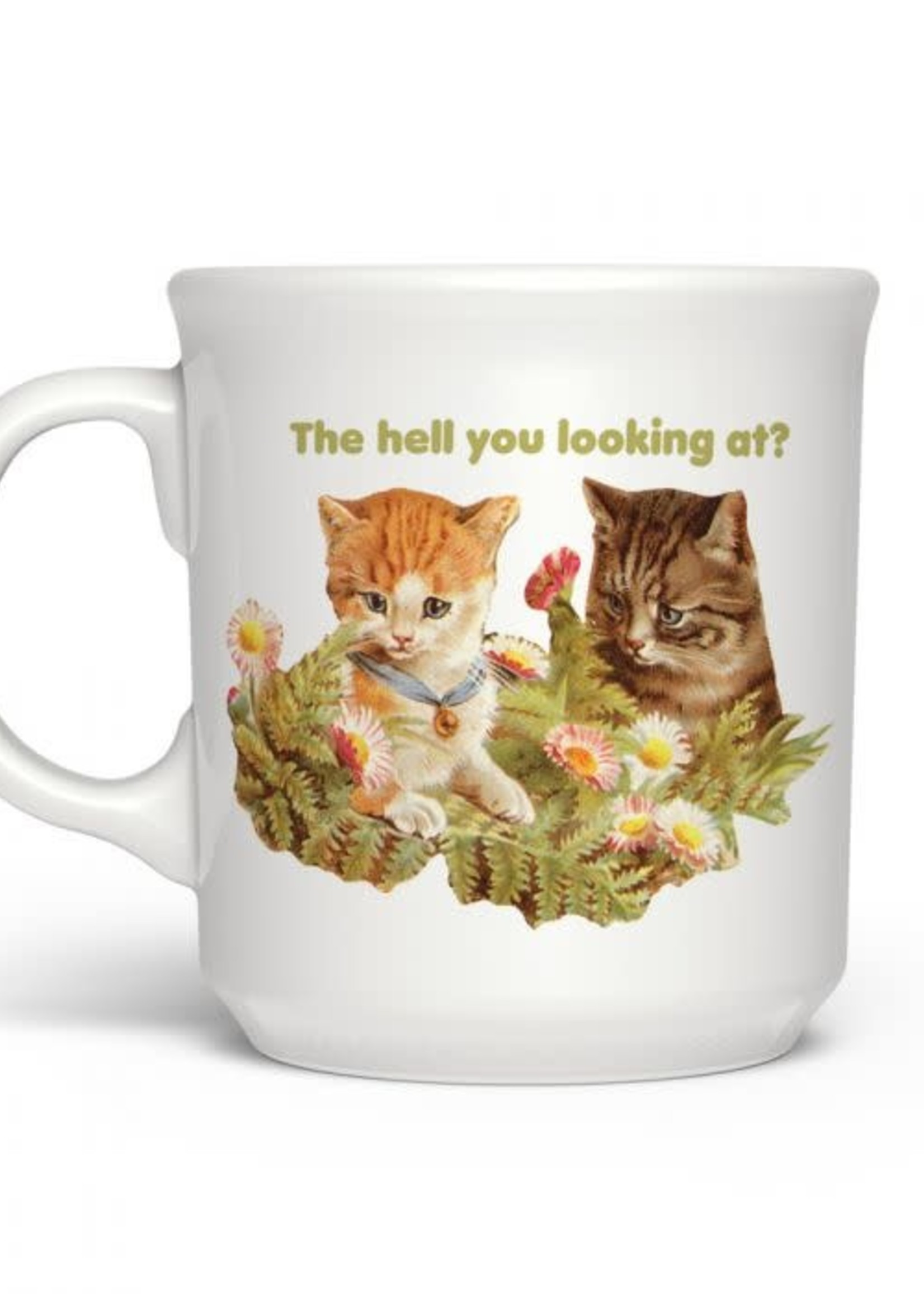Fred & Friends SAY ANYTHING THE HELL YOU LOOKING AT? MUG