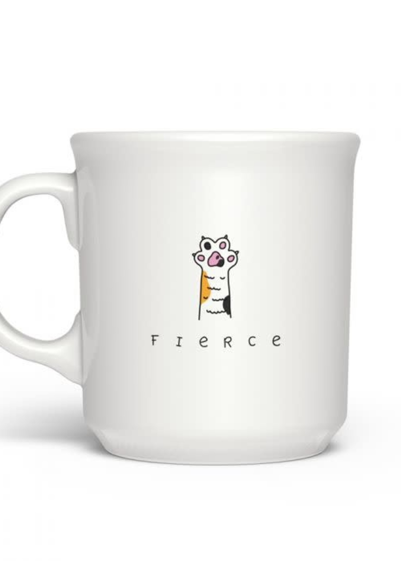 Fred & Friends SAY ANYTHING FIERCE MUG