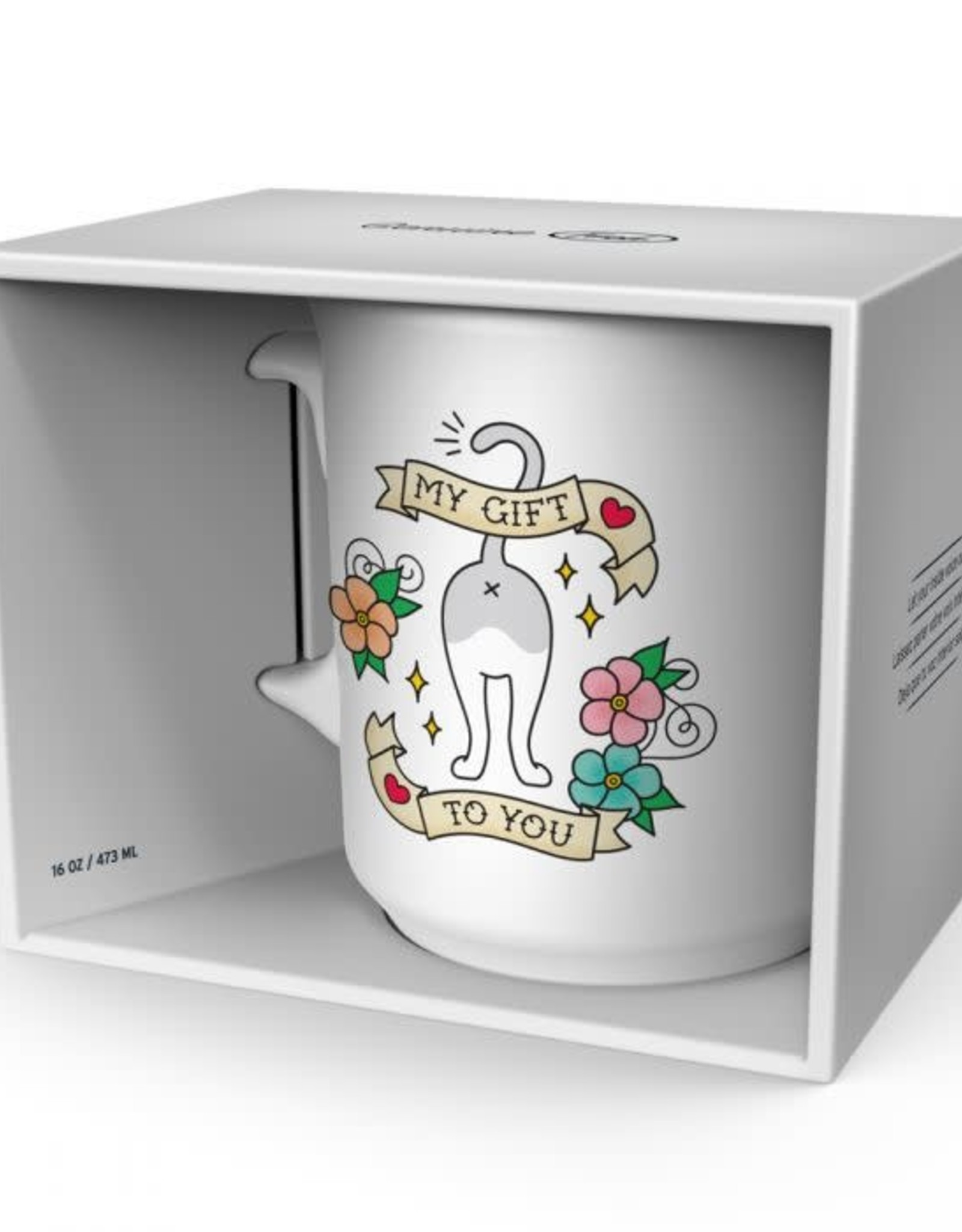 Fred & Friends SAY ANYTHING MY GIFT TO YOU MUG