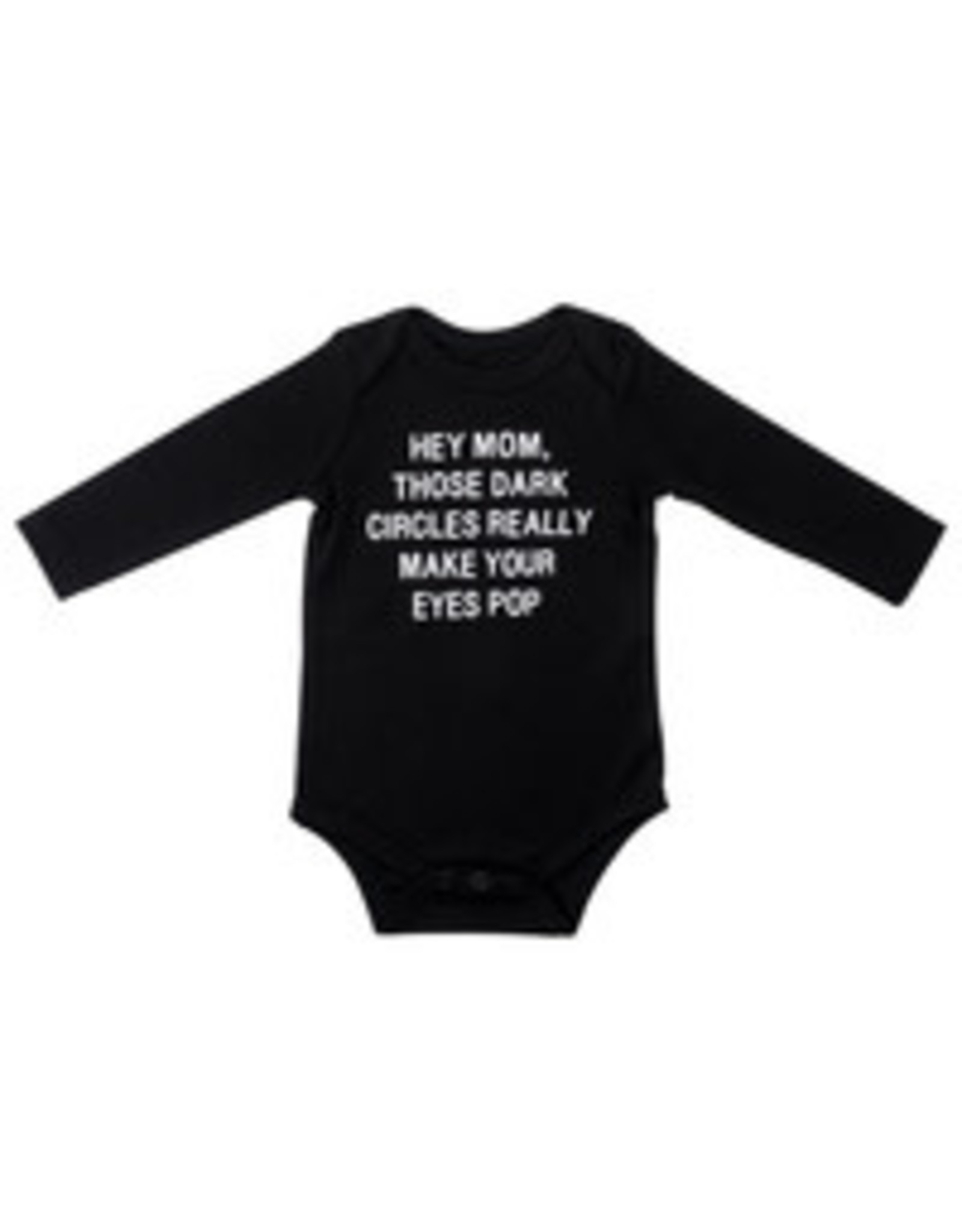 ABOUT FACE ABOUT FACE DARK CIRCLES ONESIE