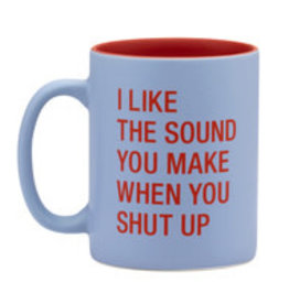 ABOUT FACE ABOUT FACE SHUT UP MUG