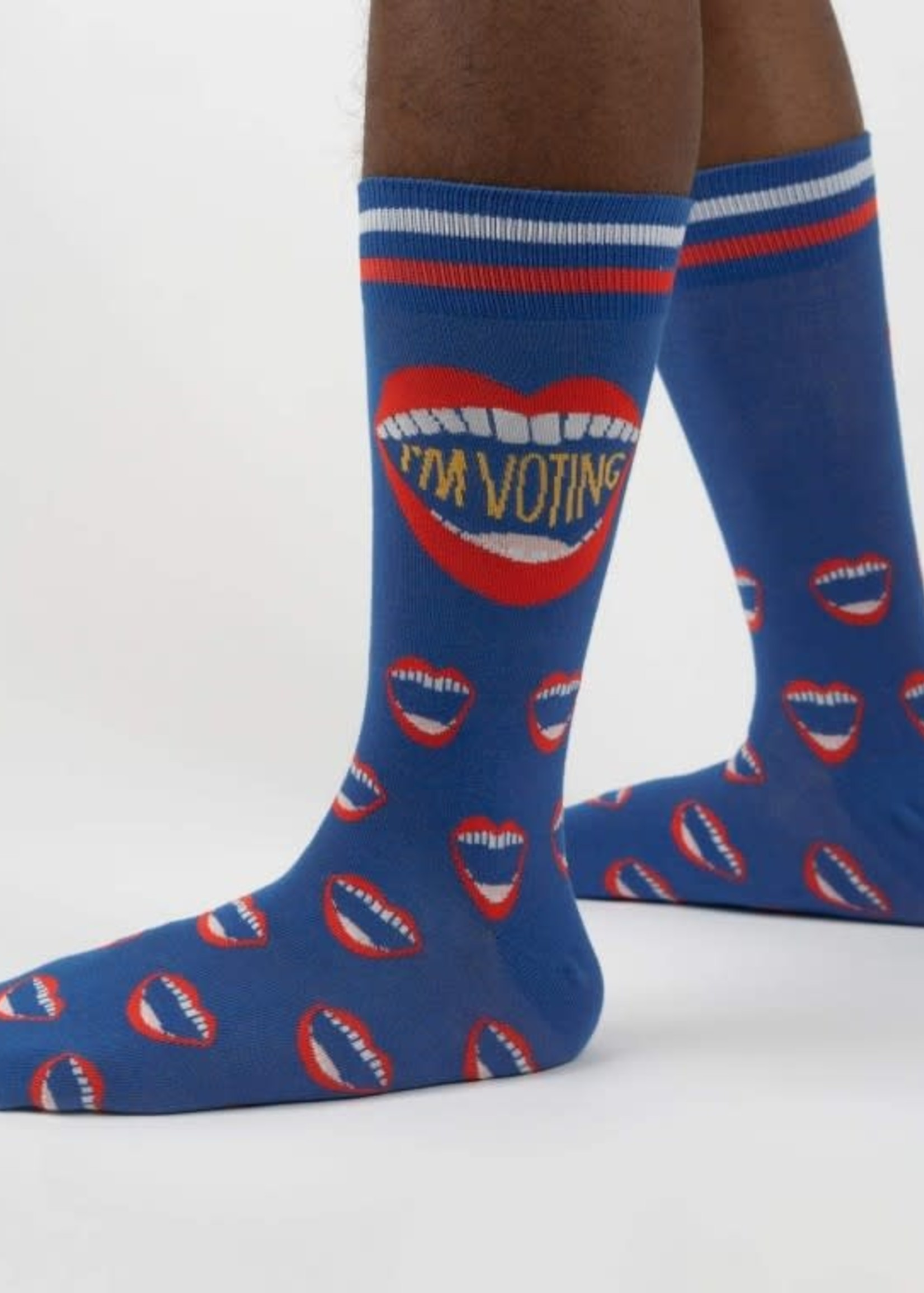 Sock it to Me SOCK IT TO ME I'M VOTING MEN'S SOCKS