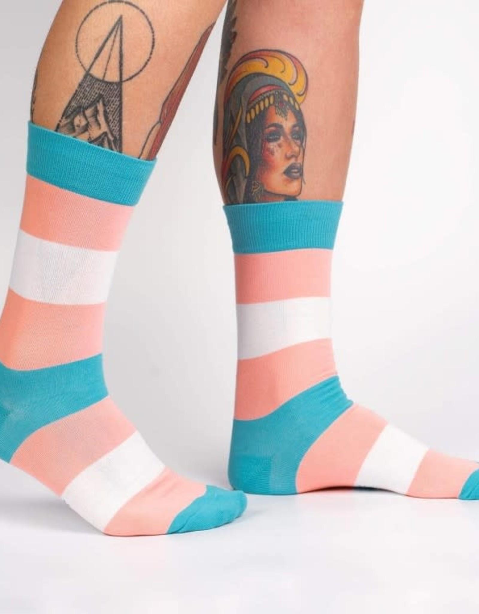 Sock it to Me SOCK IT TO ME TRANS PRIDE SOCKS