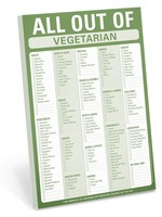 KNOCK KNOCK KNOCK KNOCK ALL OUT OF VEGETARIAN