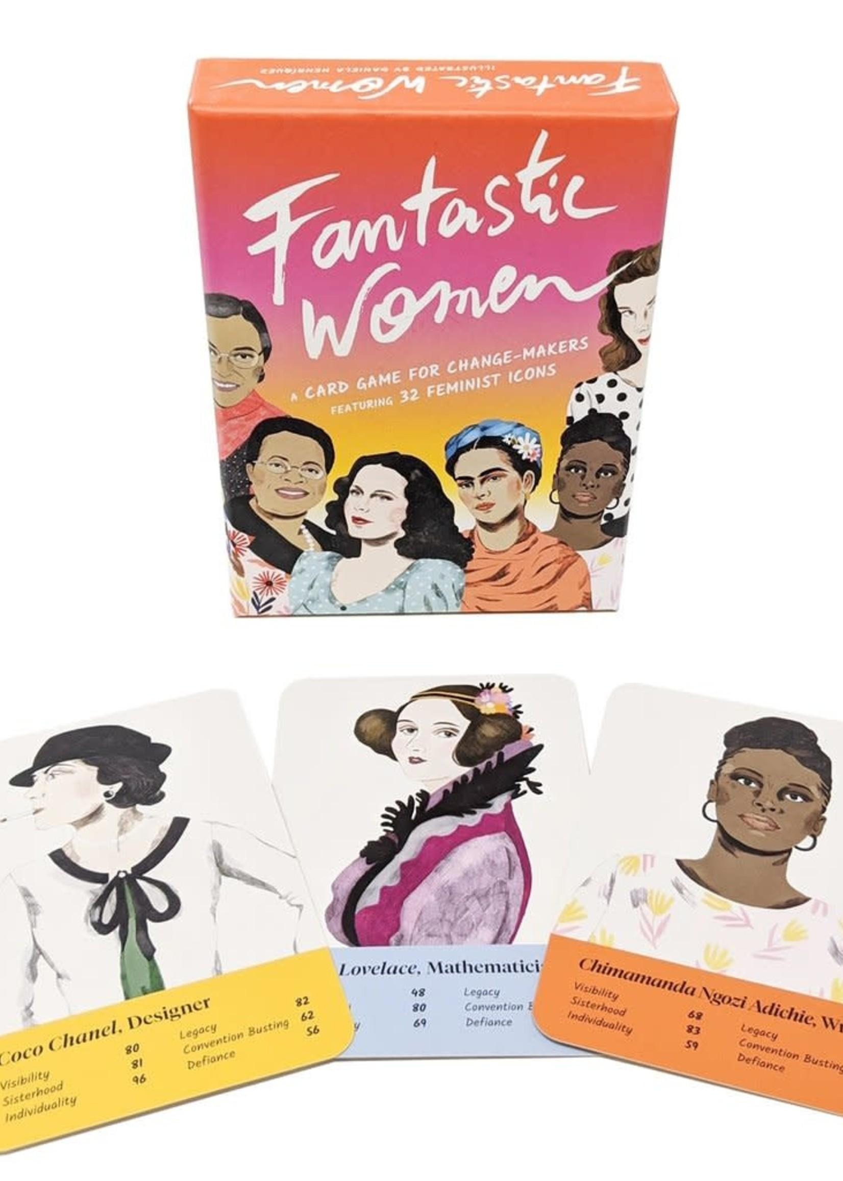 HACHETTE FANTASTIC WOMEN CARD GAME