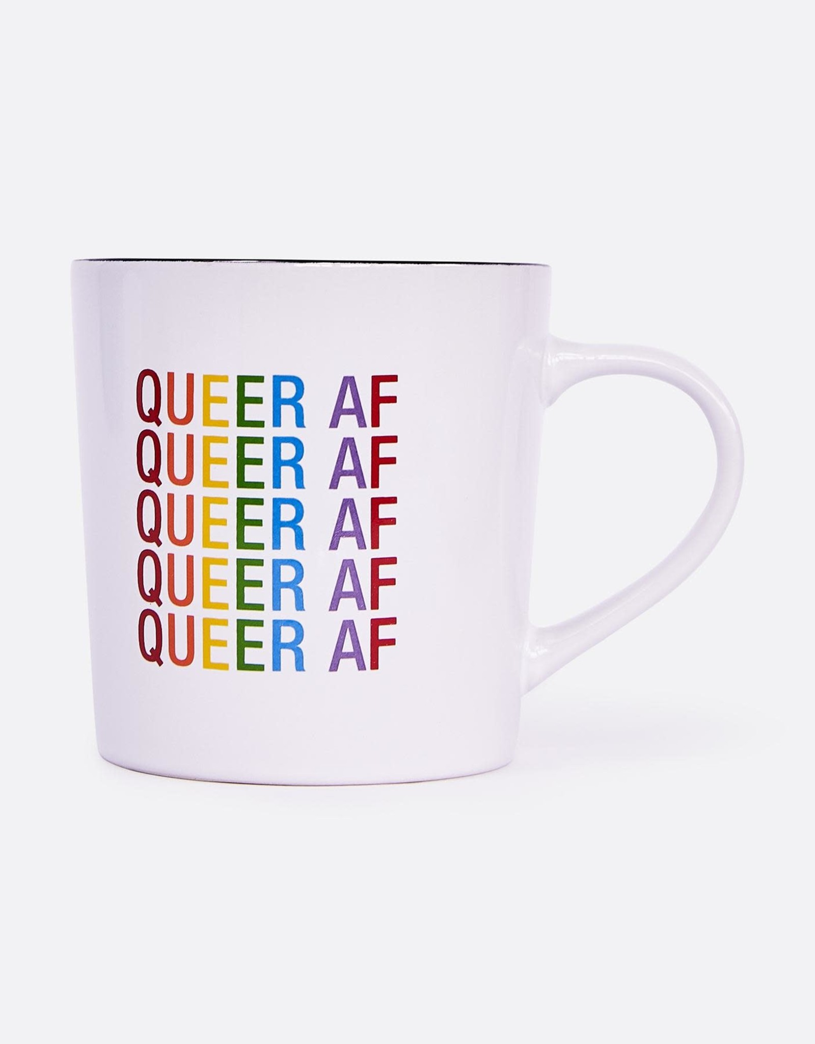 ABOUT FACE ABOUT FACE QUEER AF MUG