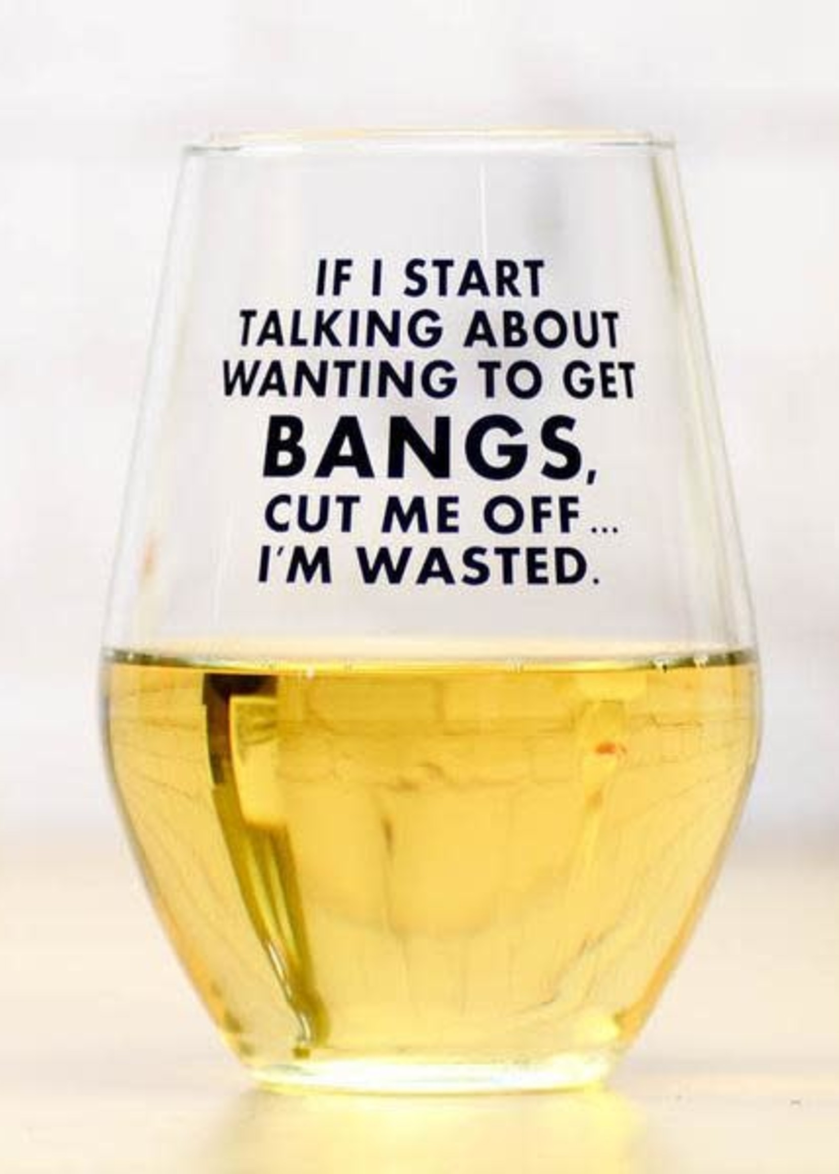 MERIWETHER MERIWETHER CUTTING BANGS - WINE GLASS