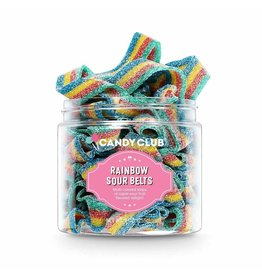 CANDY CLUB CANDY CLUB SOUR RAINBOW BELTS SMALL