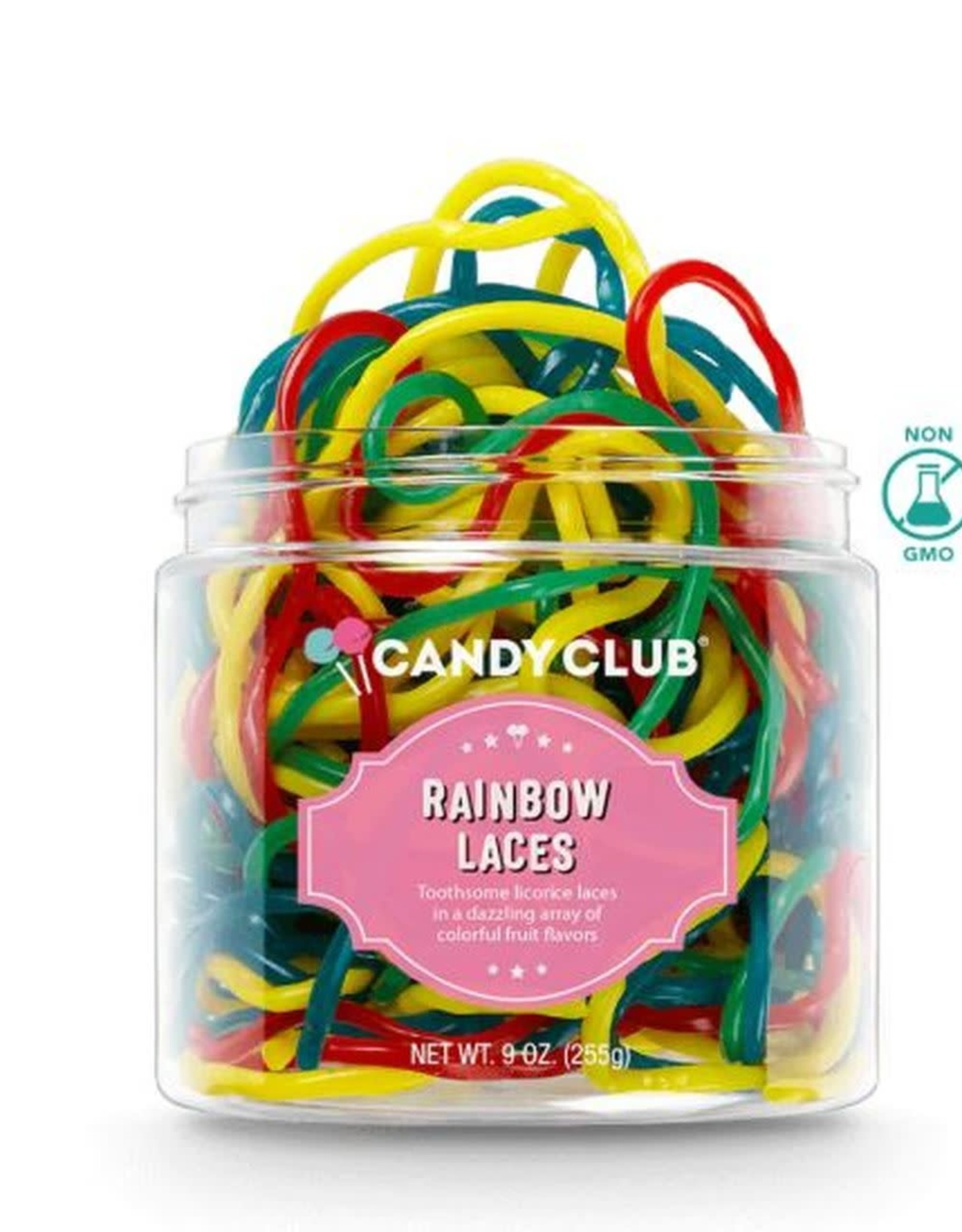 CANDY CLUB CANDY CLUB RAINBOW LACES  SMALL
