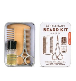 Kikkerland GENTLEMAN'S BEARD KIT