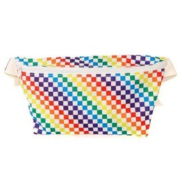 FYDELITY FYDELITY RAINDOW ULTRA SLIM FANNY PACK