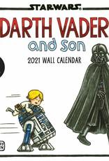HACHETTE DARTH VADER & SON CALENDAR 2021