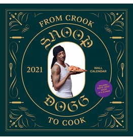 HACHETTE SNOOP DOGG FROM CROOK TO COOK CALENDAR 2021