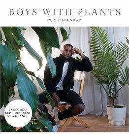 HACHETTE BOYS WITH PLANTS  CALENDAR 2021