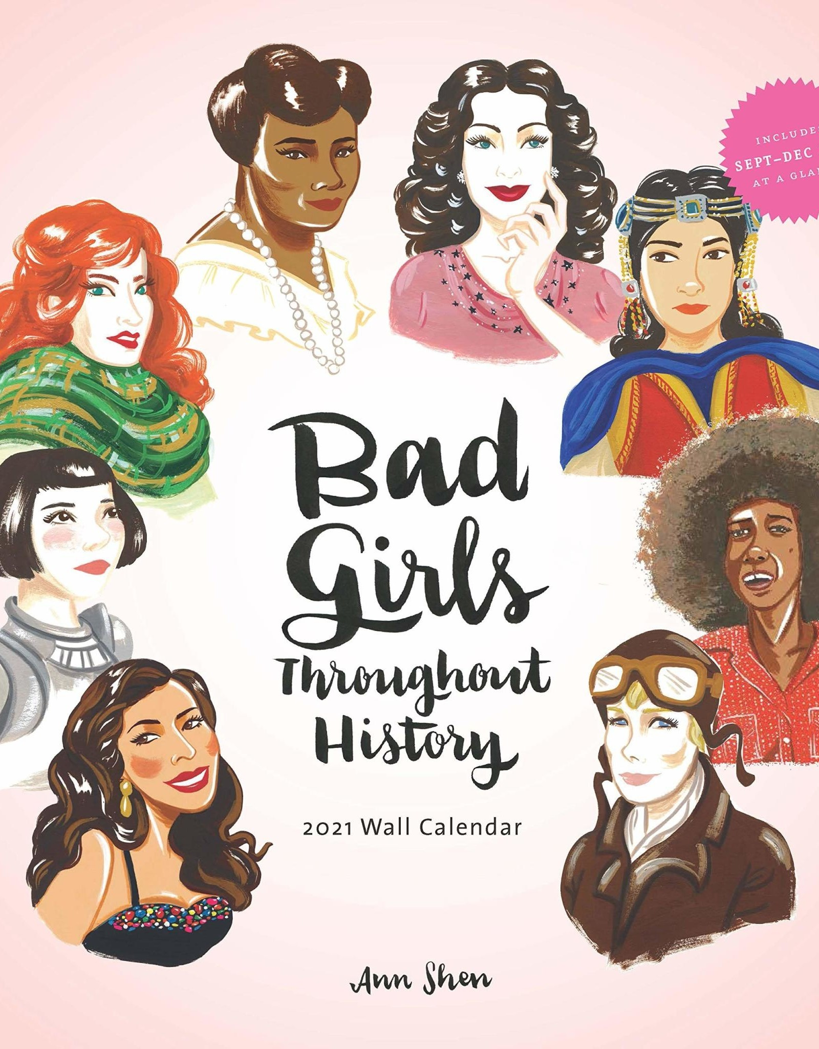 HACHETTE BAD GIRLS THROUGHOUT HISTORY CALENDAR 2021